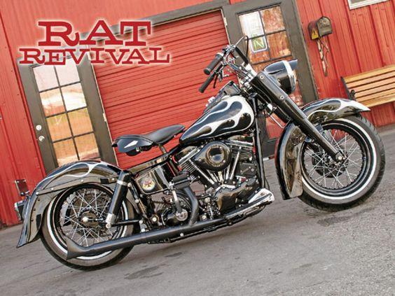 1965 Harley-Davidson FLH Electra Glide: Rat Revival | Hot Bike