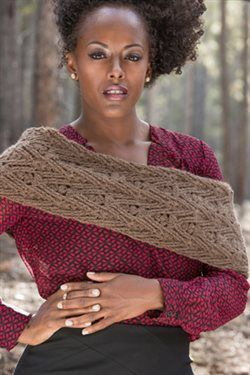 The texture of the stitches on this crochet cowl are beautiful and it's warm too. Woven Twigs Cowl - Media - Crochet Me