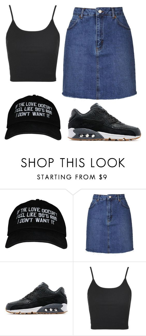 """We own the night"" by thefashionguilty on Polyvore featuring moda, Topshop y NIKE"