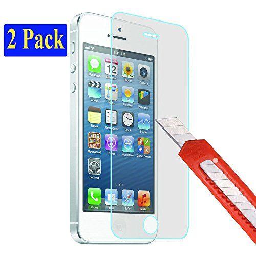 2x iPhone SE / 5S / 5 / 5C Ultra-Klar plt24 Glasfolie Pan…