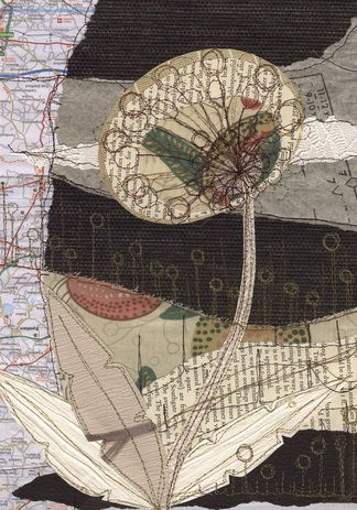 Friday Favorite: Anne Brooke - Mixed-Media Map Art