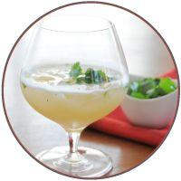 pear margarita via At The Table