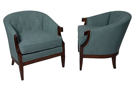 Salon  Chairs, Pair on OneKingsLane.com