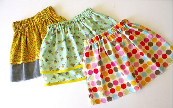 TUTORIAL: a simple skirt   MADE