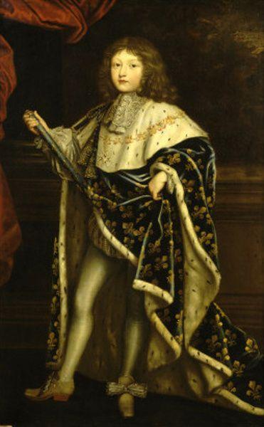 Louis XIV à 10 ans Henri Testelin (1616 – 1695, French)