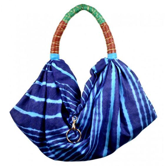 Bolsa lenço tecido Xaa Bags.   Garimpe: http://garimpop.com.br/93-244-thickbox/x.jpg