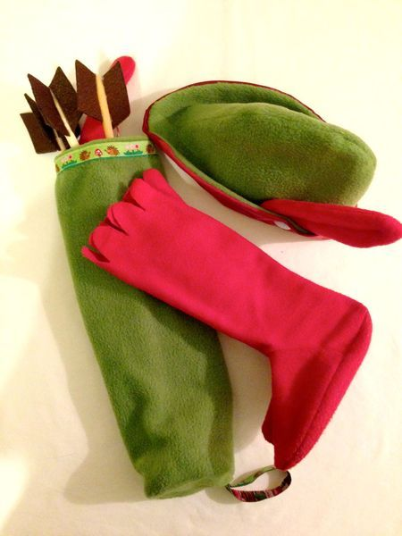 Robin Hood Kostüm von Prinz Pustehaar auf DaWanda.com