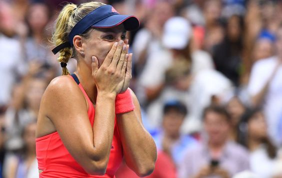 Angelique Kerber climaxed a dream season at the U.S. Open on Saturday, performing as the champion she has become through hard work, patience and a love of the game.