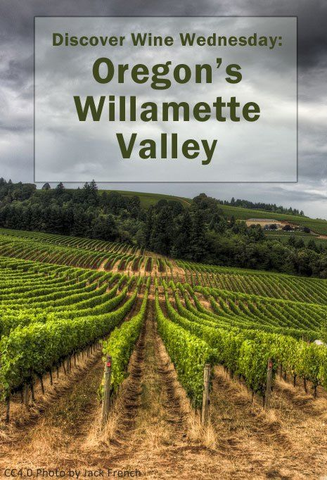 Located not too far outside of Portland, is Oregon's Willamette Valley, which is the premier wine region in Oregon, where the Pinot Noir grows so well.