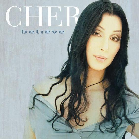 Cher – Believe (single cover art)