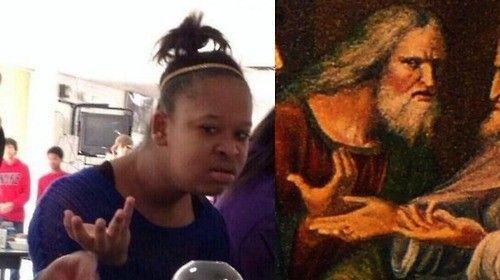 Confused Thaddeus