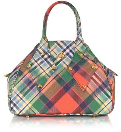 Kleine Umhängetasche aus Textilleder von Vivienne Westwood auf shopstyle.de