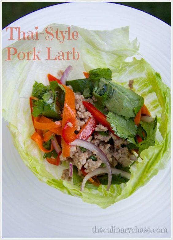 Thai-Style Pork Larb