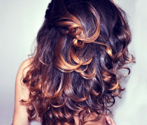 love the curls and the color.
