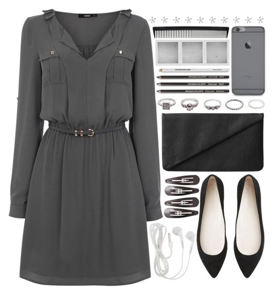 """""""Geen titel #446"""" by lisannes1 ❤ liked on Polyvore featuring Clips, Oasis, Monki, Witchery, BKE, Holga and T3"""