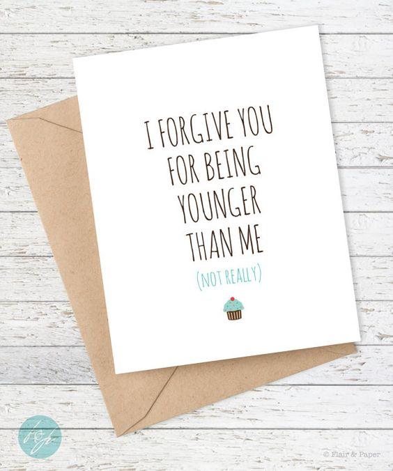I Love You Card Boyfriend Card Awkward Card Snarky Card: Friend Birthday Card