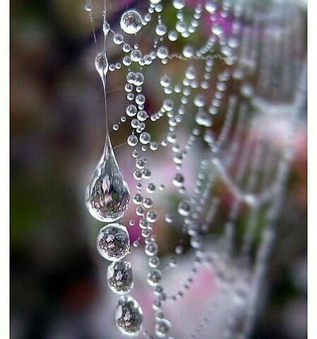 Crystal dewdrops