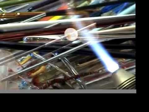 Lamellenperle - Pleat Bead (neue Musik)