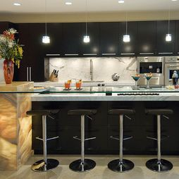 Masculine kitchen design pictures remodel decor and for Masculine kitchen ideas