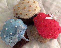 Mini Cupcake Feltro