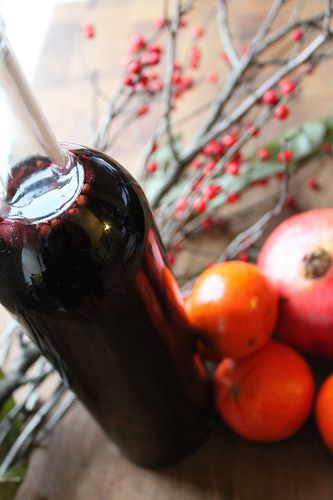 Spiced Sangria: This recipe weds fruity red wine that has been spiced ...