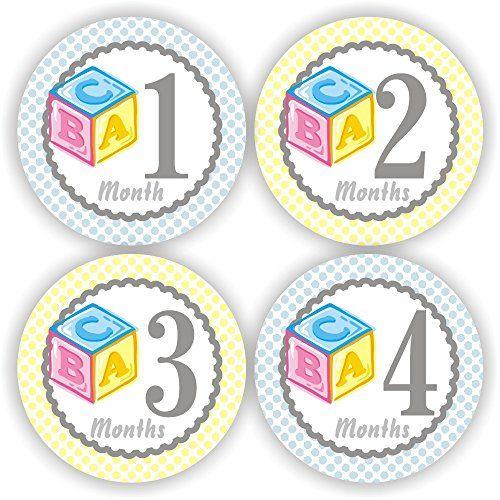 Baby Boy Monthly Stickers - Baby Stickers - Baby Shower Stickers - Baby Block Stickers Philly Art & Crafts LLC http://www.amazon.com/dp/B00SZ63T04/ref=cm_sw_r_pi_dp_ZQhavb1NZWY4X