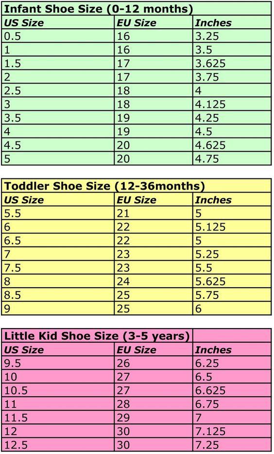 Knitting Pattern Size Chart : Cats-Rockin-Crochet, Free Crochet and Knit Patterns: Handy Size Charts Croc...