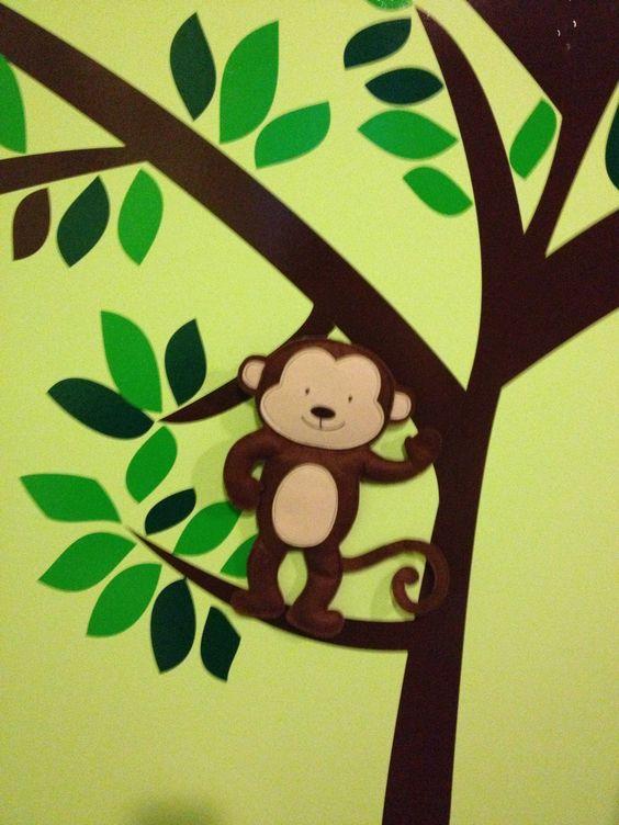 Nursery baby's room . Decor. Cuarto del bebé . Niño