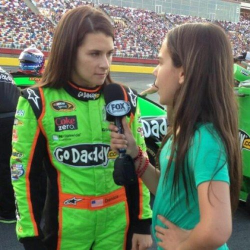 karsyn elledge, dale jr.'s niece, interviews danica: Dale Jr, Nascar, Niece Interviews, Earnhardt Jr 1, Dale Earnhardt, Interviews Danica