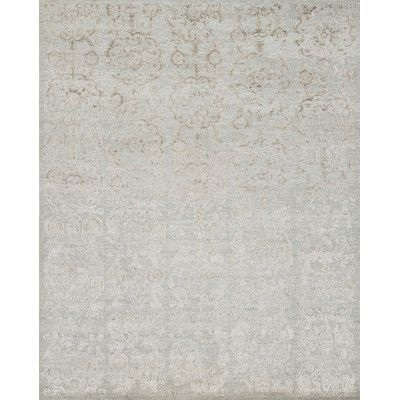 Loloi Rugs Cyrus Hand-Knotted Pewter Area Rug