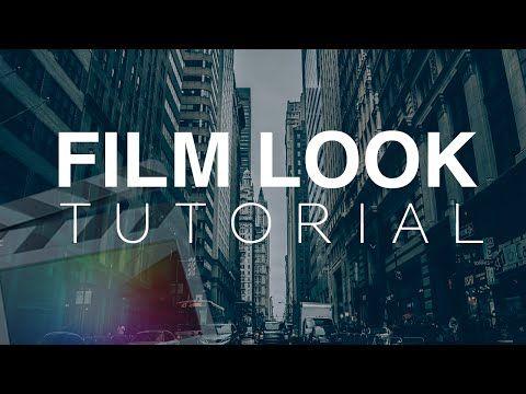 Film Look Tutorial - Final Cut Pro X - YouTube