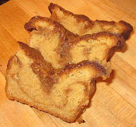 The Preppy Chef: Peanut Butter - Caramel Pound Cake