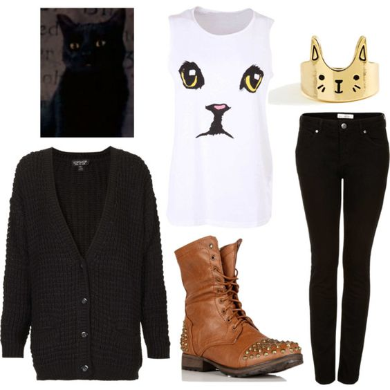 """Thackery Binx, Hocus Pocus"" by jboothyy on Polyvore"