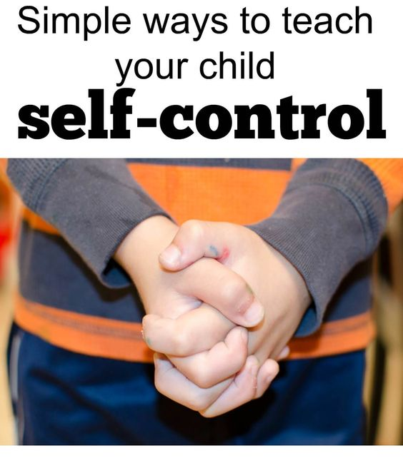 Self-control is hard! Find out some simple tricks to help make self-control more tangible for your kids.