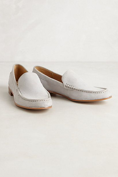 Anthropologie Ivory Loafer