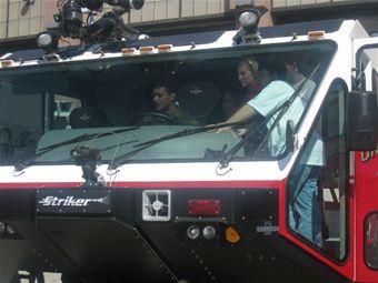 MAFB Fire Truck