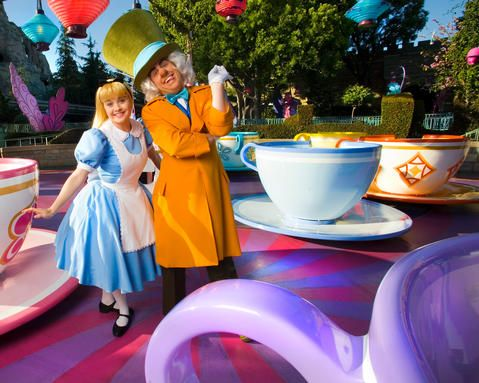 Alice and Mad Hatter- I love Alice and Wonderland.