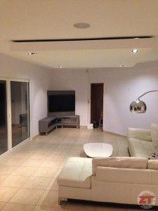 un faux plafond en placo avec spot et ruban led int 233 gr 233 s zwevend plafond met verlichting