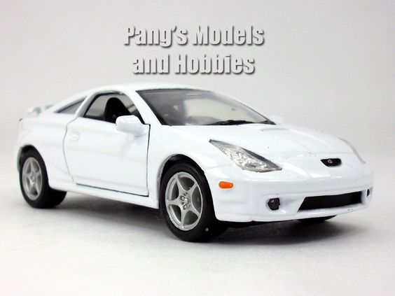 4.5 inch Toyota Celica Scale Diecast Model by Welly