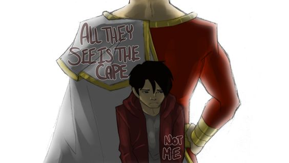 YJ: Behind the Cape by ~xxjust-a-nobodyxx on deviantART