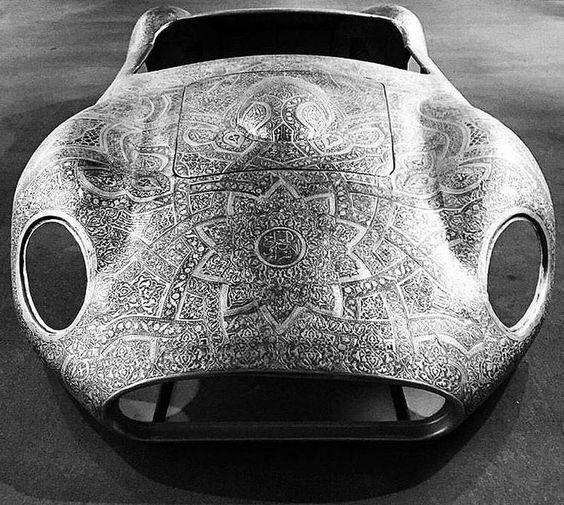 Maserati by Wim Delvoye