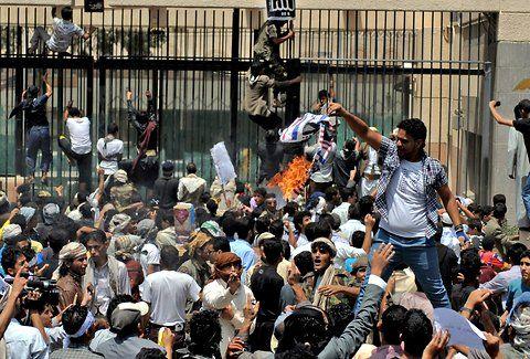 current Muslim protests