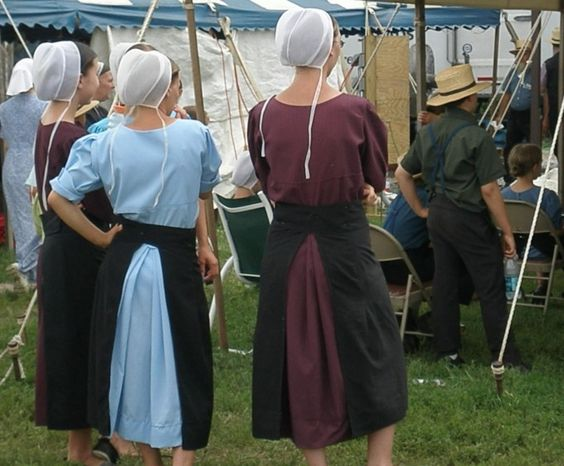 Young Amish Girls