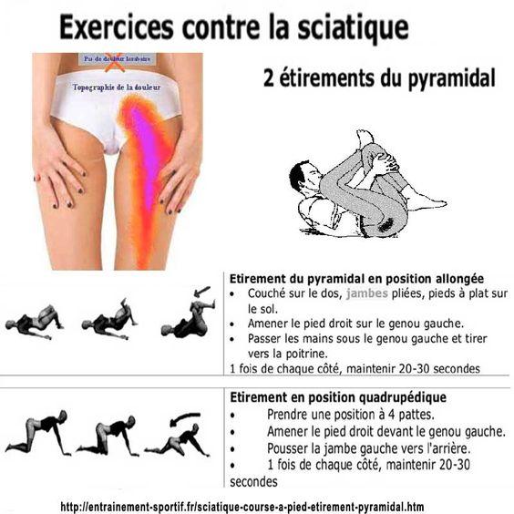 http://entrainement-sportif.fr/sciatique-course-a-pied-etirement-pyramidal.htm Exercices d'étirement pour soulager une sciatique