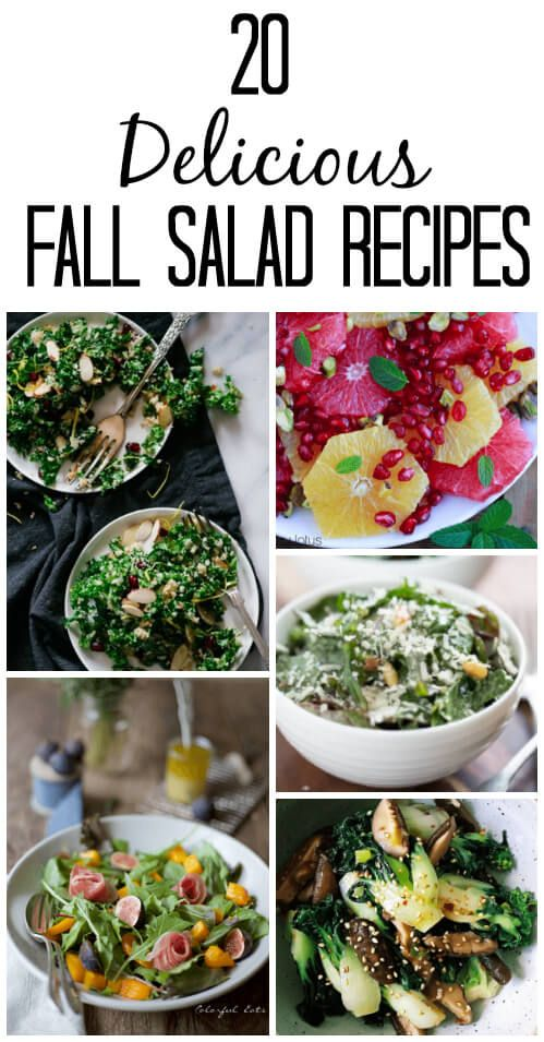 Keep eating your salads! Just switch up what you put in them. More kale. More winter squash. More beets. Pomegranates. Citrus. Get creative!