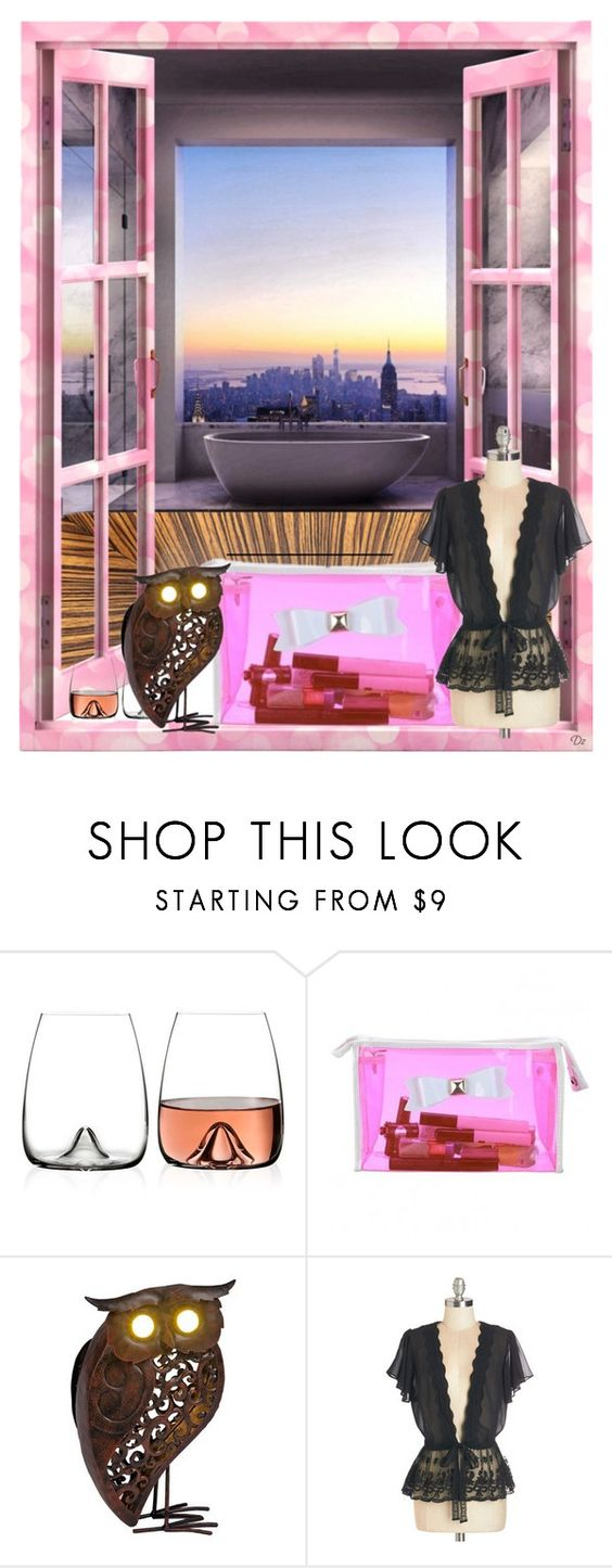 """late bath"" by didesi ❤ liked on Polyvore featuring beauty and Waterford"