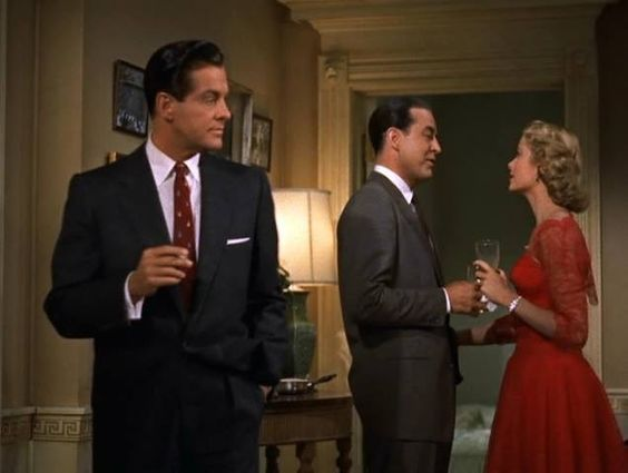 M jak morderstwo / Dial M for Murder (1954, Alfred Hitchcock) #GraceKelly #RobertCummings #RayMilland: