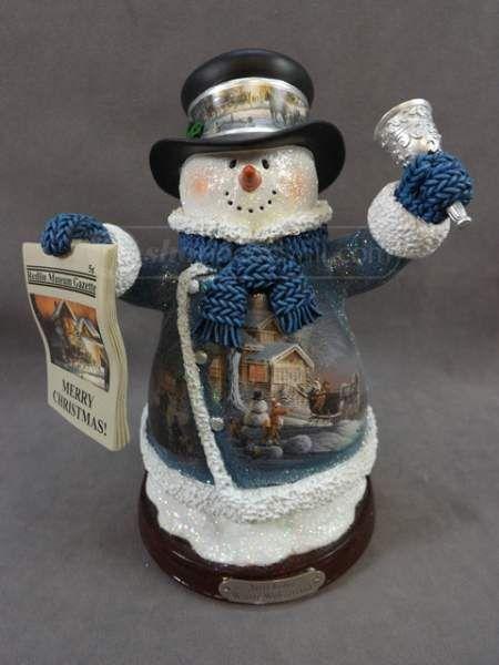 shopgoodwill.com: Terry Redlin Winter Wonderland Snowman