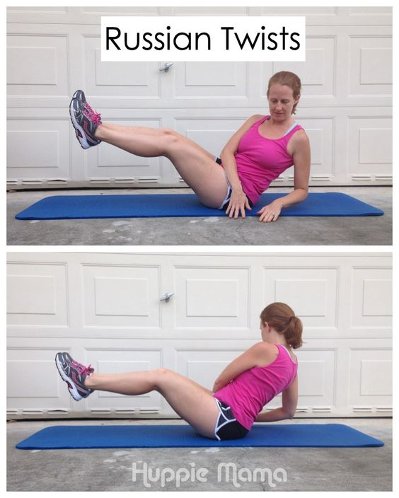 Stability Ball Russian Twist: How To Do Russian Twists #FreeToMove #shop
