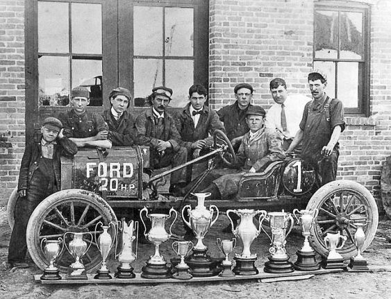 Model T Ford Speedsters and Racing Cars